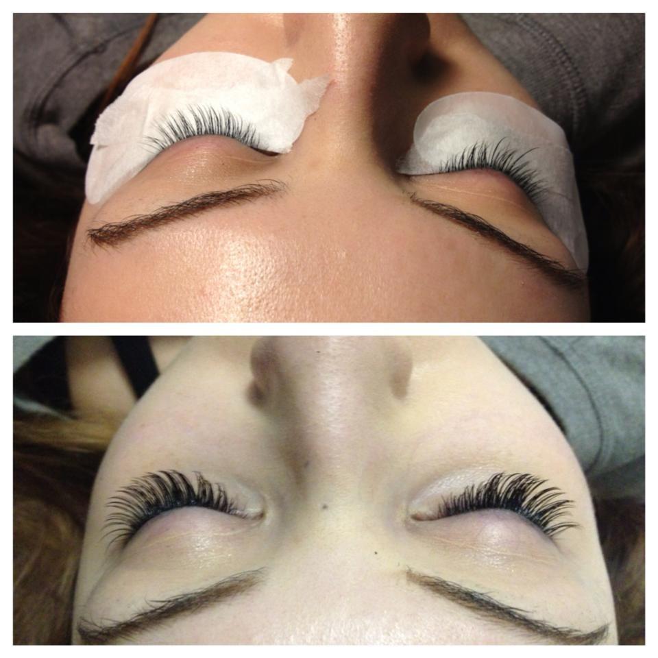 Eyelash extensions by amanda at chicago lashes chicago