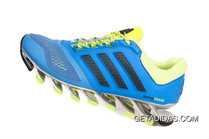 / / mens adidas springblade 4 scarpe da corsa sky