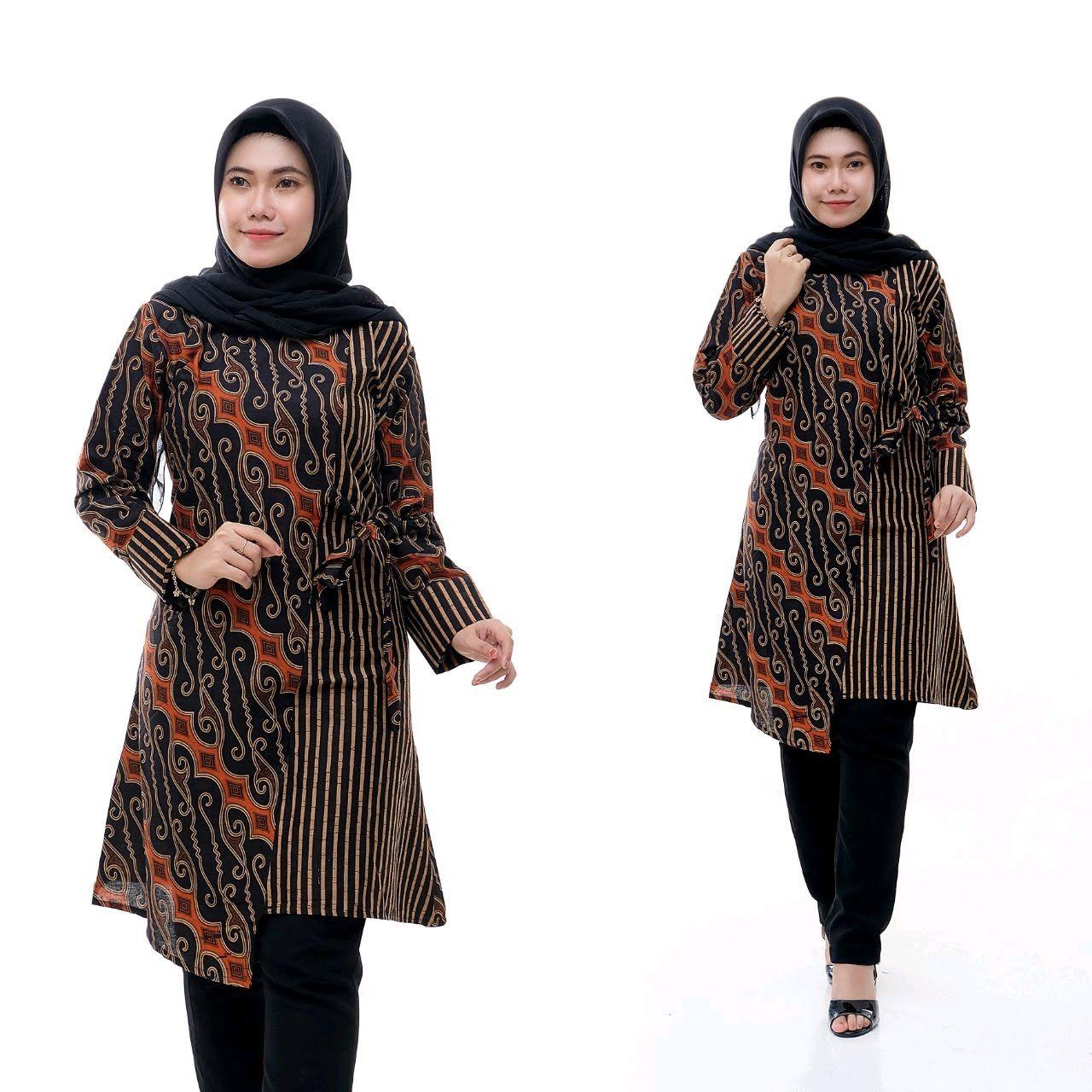 Model Baju Batik 2020 Wanita