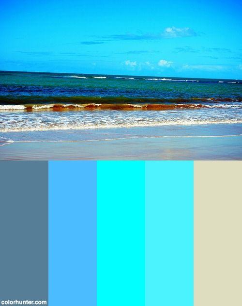 Praia Dos Coqueiros Color Scheme