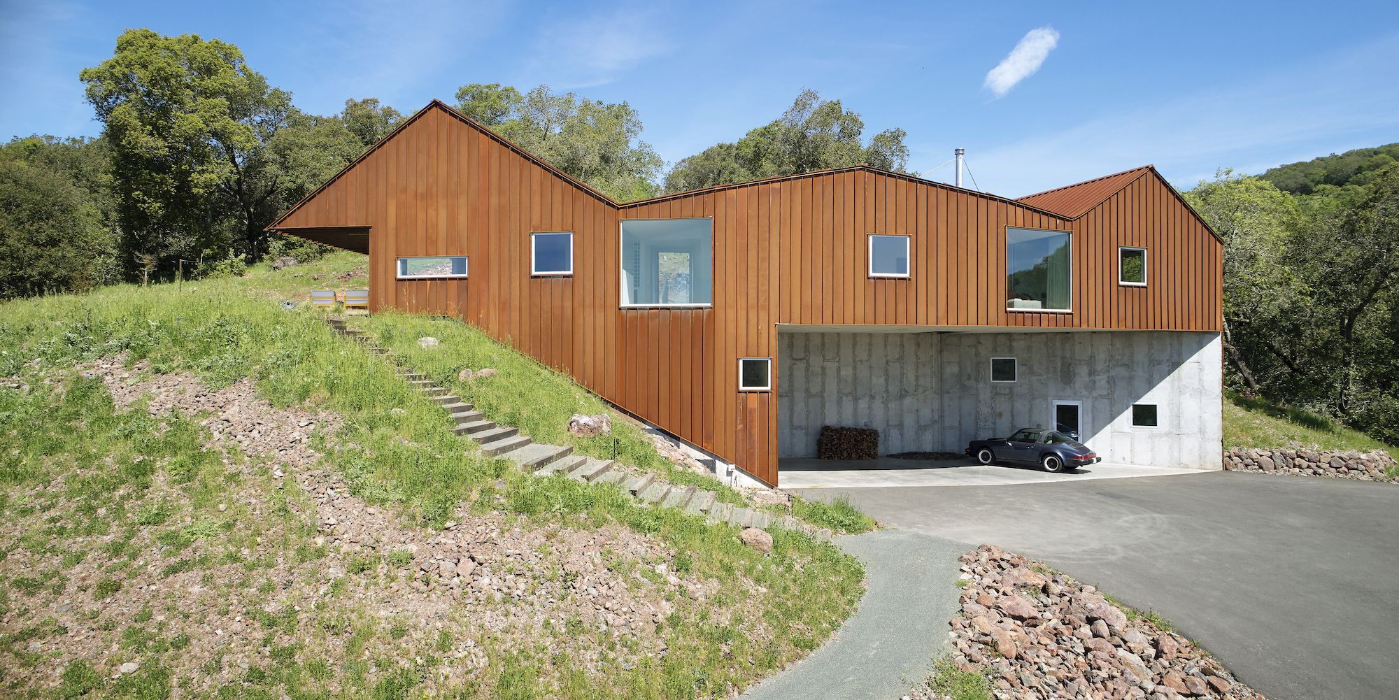 12 Characteristics Of A Modern Scandinavian House Hunker In 2020 Agricultural Buildings Architect Barn House
