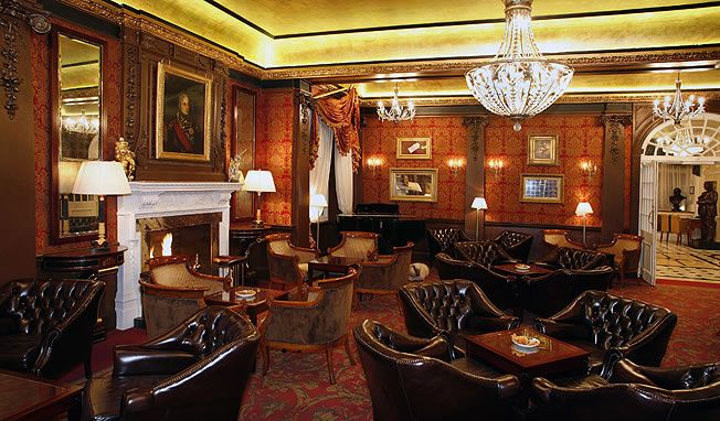 Fine Art Lamps Winter Palace Pendant 300940 - The Goring Hotel Lounge