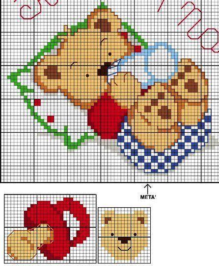 Рисунки для вышивания крестиком схемы для детей
