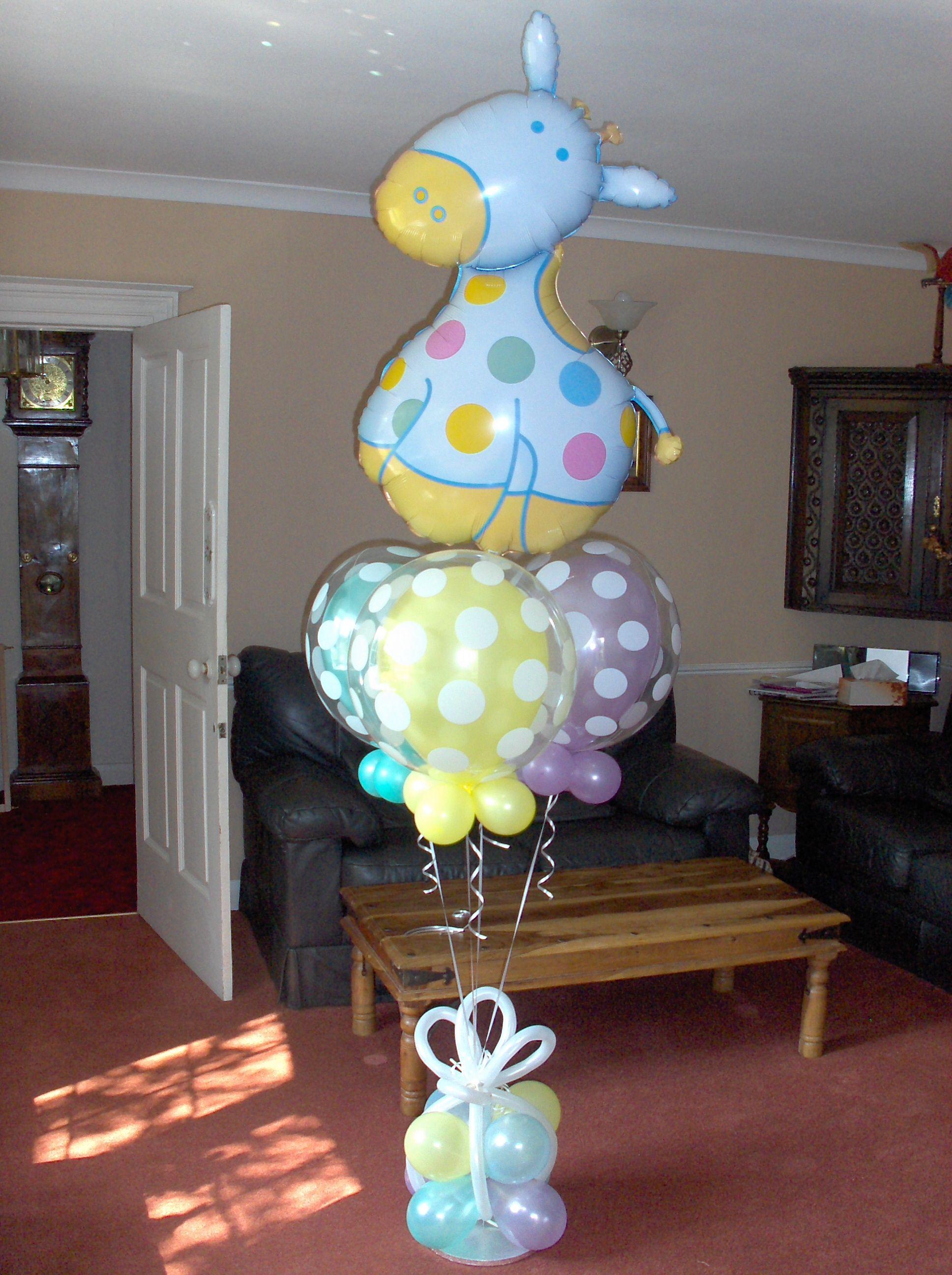 Elegant Baby Shower Balloon Ideas From Prasdnikov