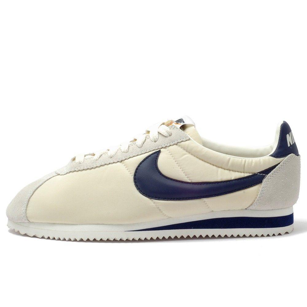 Nike Nylon Cortez Basic Midnight Navy