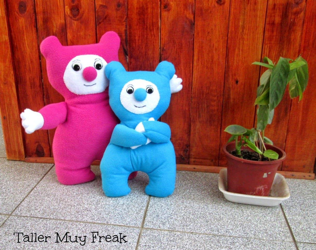 TALLER MUY FREAK .: Billy  Bam-Bam Peluches