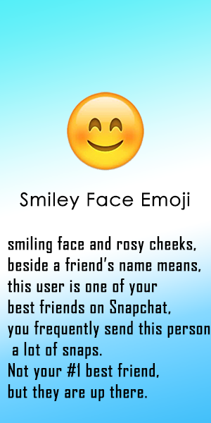 What Do the Snapchat Emojis Mean | Meaning of all the