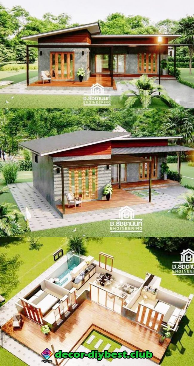 diy möbel | house layouts, bungalow house design, house