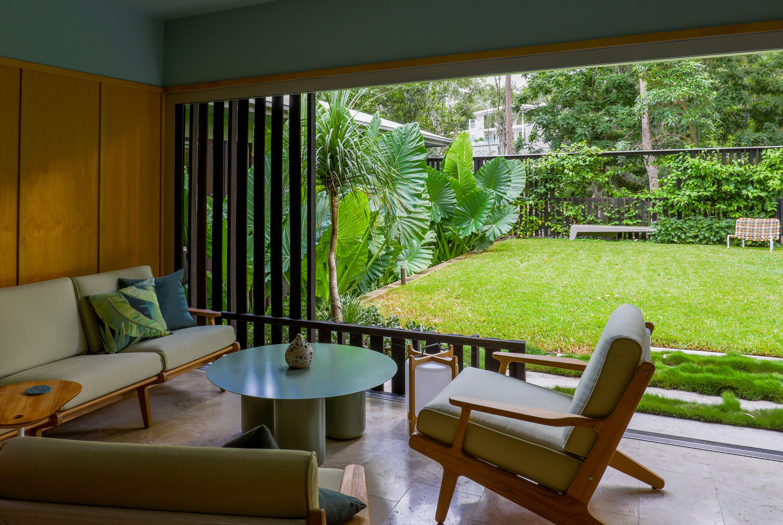Fig Tree Pocket Garden in 2020 | Pocket garden, Architect ...