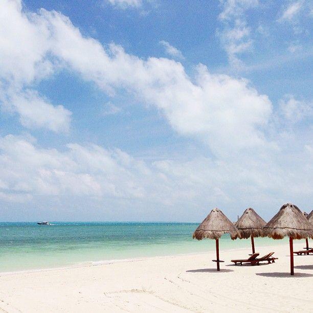 Beautiful Beach At The Beloved Hotel Playa Mujeres Http://www.belovedhotels.