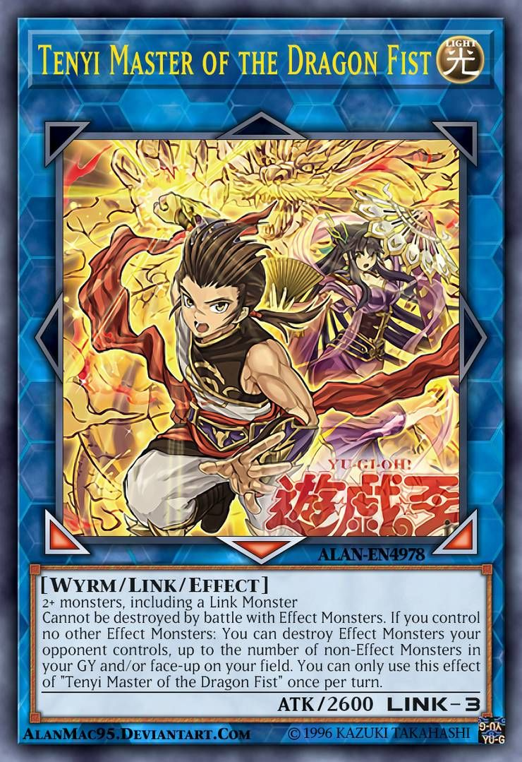 Tenyi Master Of The Dragon Fist By Alanmac95 On Deviantart Yugioh Cards Yugioh Online Art Gallery