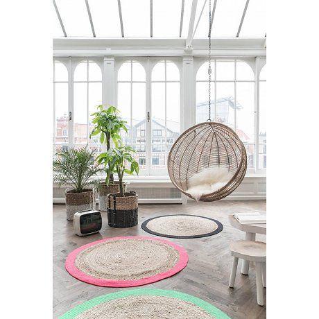 Hk Living Hangstoel.Hk Living Hangstoel Bal Rotan Licht Naturel 108x108x83cm Home