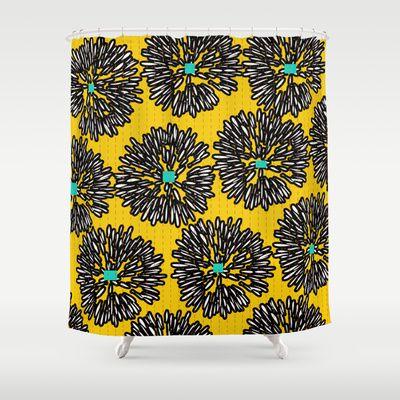 Indigo Shower Curtain by Simi Design - $68.00