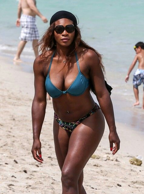 serena venus williams bikini