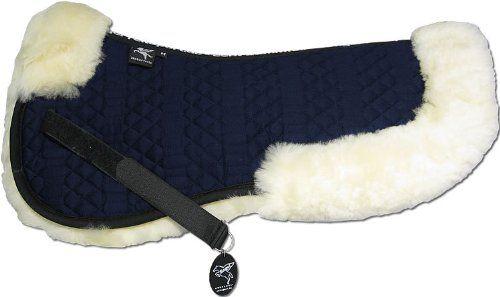 Engel Germany Demi-Chabraque DE en Peau de Mouton Couleur Coton Bleu Combinez-Vous avec 12 Coleur de Peau de Mouton Sakis 2