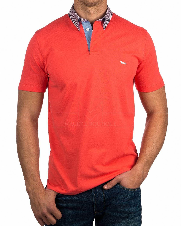 bd2465f77 Polo Harmont & Blaine Cuello Camisero Azul Marino | Shirts | Mens ...