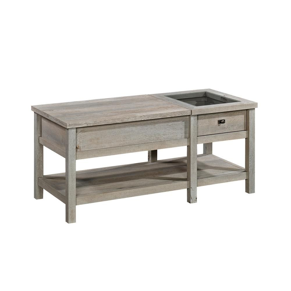 Sauder Cottage Road 43 In Mystic Oak Large Rectangle Composite Coffee Table With Lift Top 422480 The Home Depot Coffee Table Lift Top Coffee Table Wood Lift Top Coffee Table [ 1000 x 1000 Pixel ]