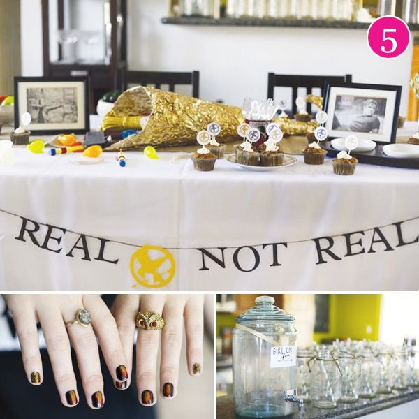 Hunger Games themed party - via Hostess with the Mostess