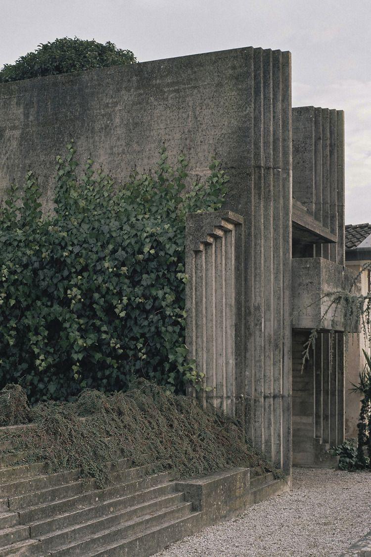 Túmulo Brion, Altivole, Treviso, Itália, 1968 Carlo Scarpa