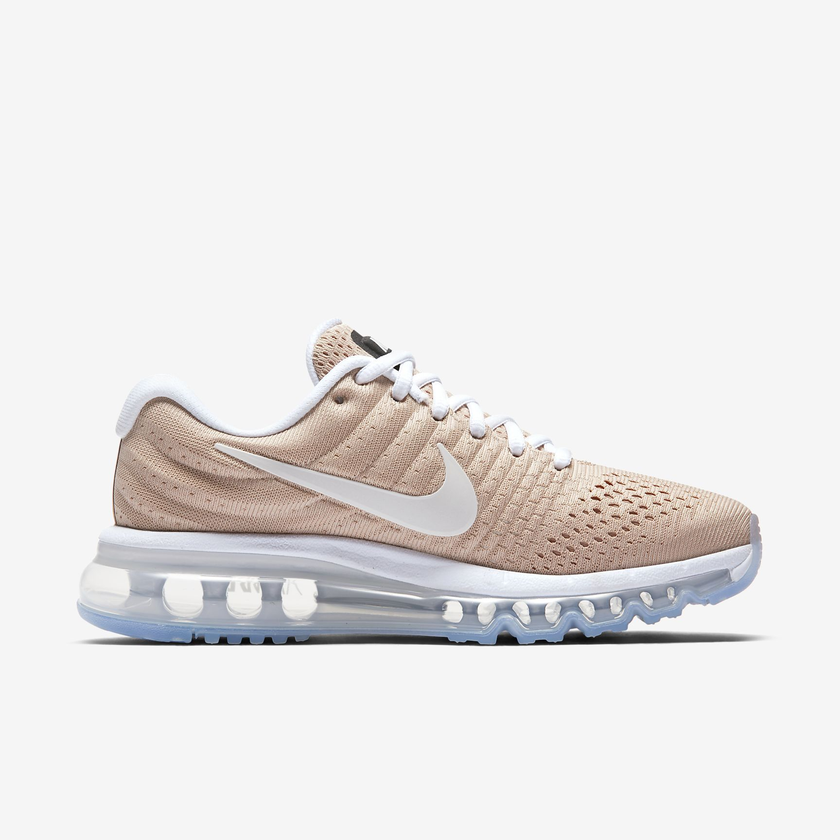 sports shoes bbdf9 df39c Chaussures Femme AIR MAX 2017 Beige bio Blanc