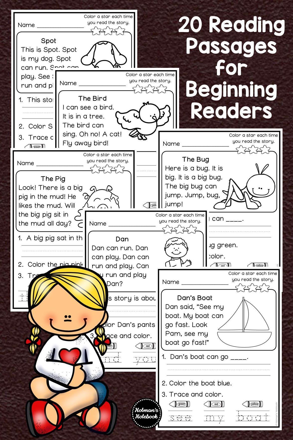 Kindergarten Comprehension Passages Kindergarten Comprehension Passages Elementary Reading Comprehension Passage [ 1764 x 1176 Pixel ]