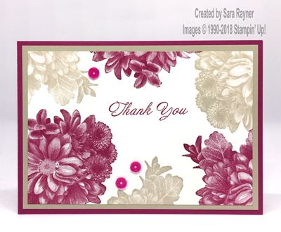 Heartfelt Thank You Sara S Crafting And Stamping Studio Card