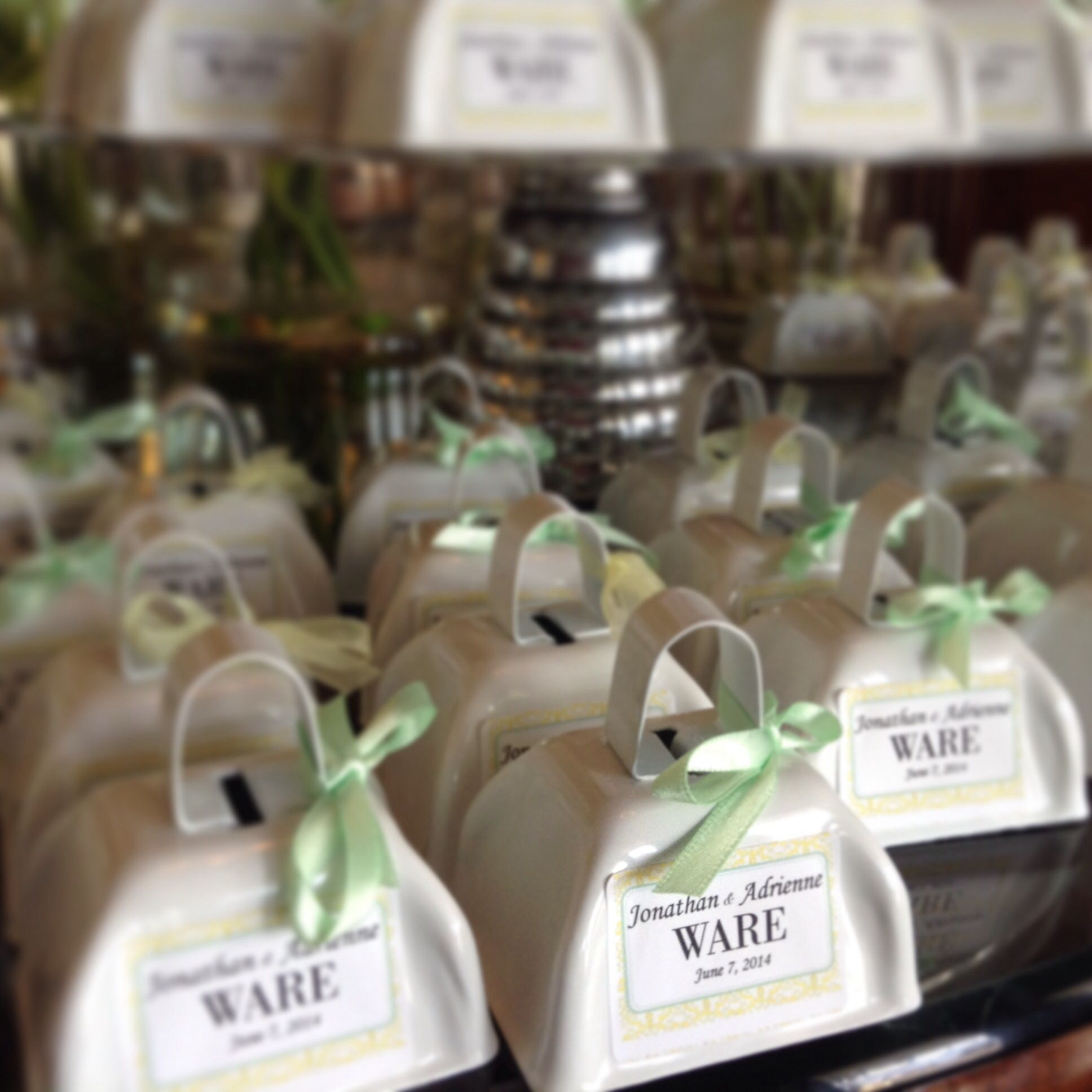 Looking For A Different Wedding Favor How About Personalized