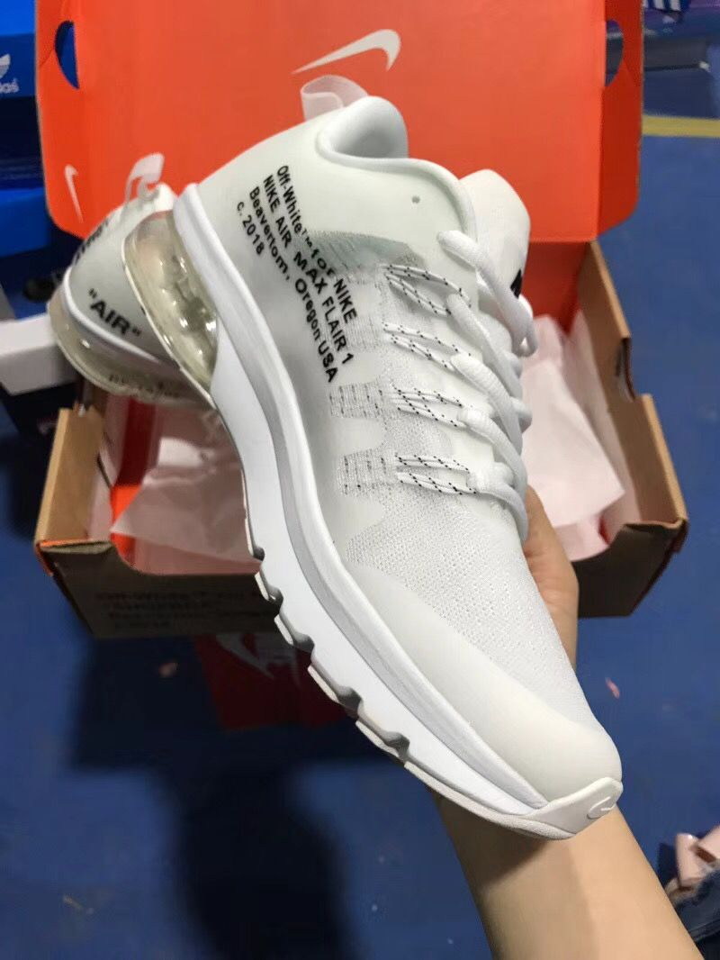 new concept 94c8d 623c1 AIR MAX FLAIR 1& OFF WHITE | Nike Shoes in 2019 | Sneakers ...