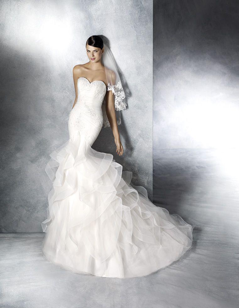 8a9228c327 Robe de mariée – White One – Jabel Wedding Dresses For Sale
