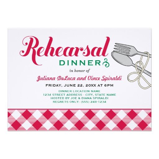 Fun and unique wedding rehearsal dinner invitations perfect for a - best of invitation name designs