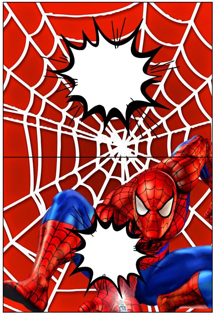 Spiderman: Etiquetas para Candy Bar para Imprimir Gratis ...