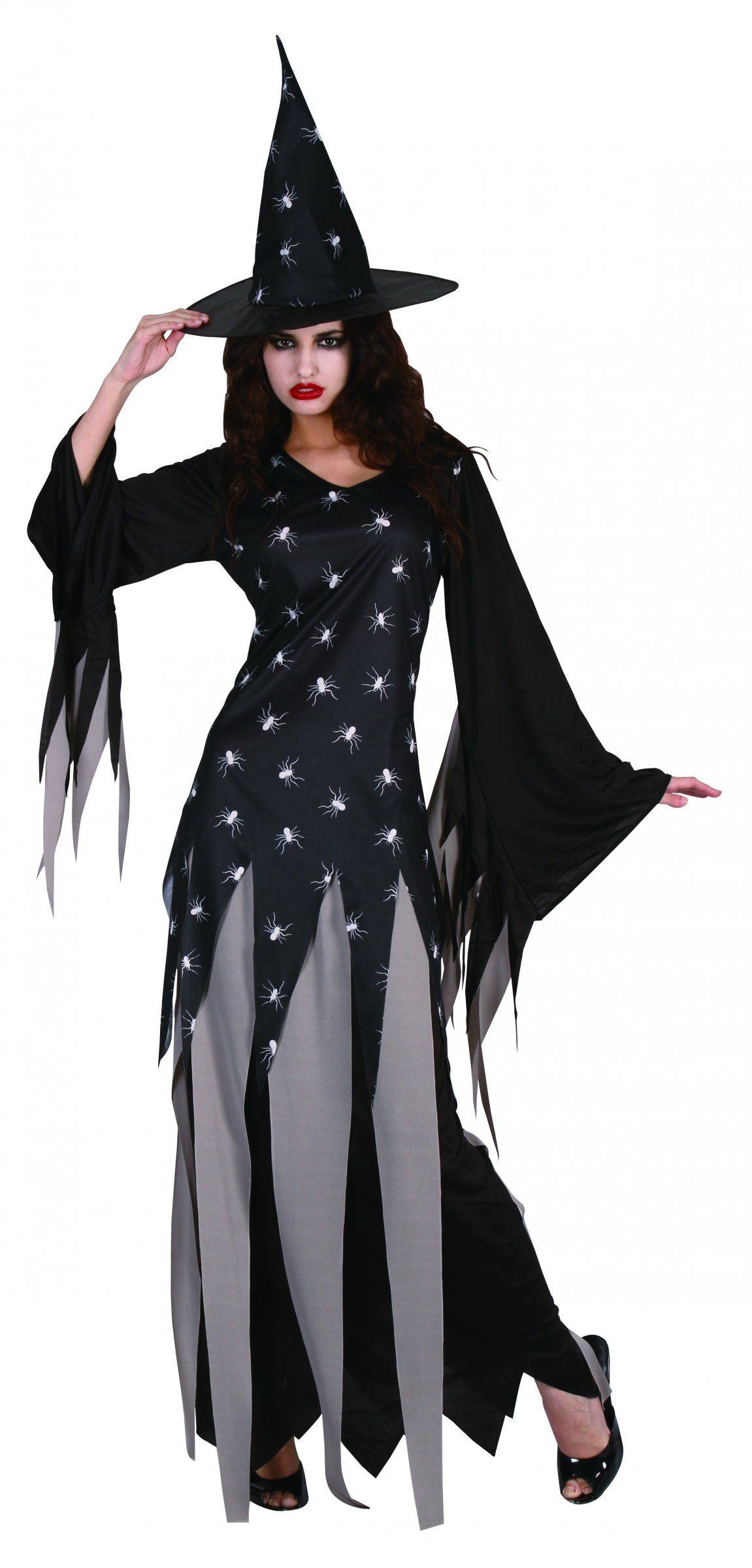 Costume da strega ragno donna Halloween  Questo costume da strega per donna  è composto da una gonna 22bfda60cf7d
