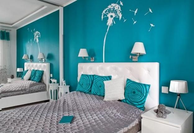 Bedroom Designs Turquoise wall mirrors and 33 modern bedroom decorating ideas | bathroom