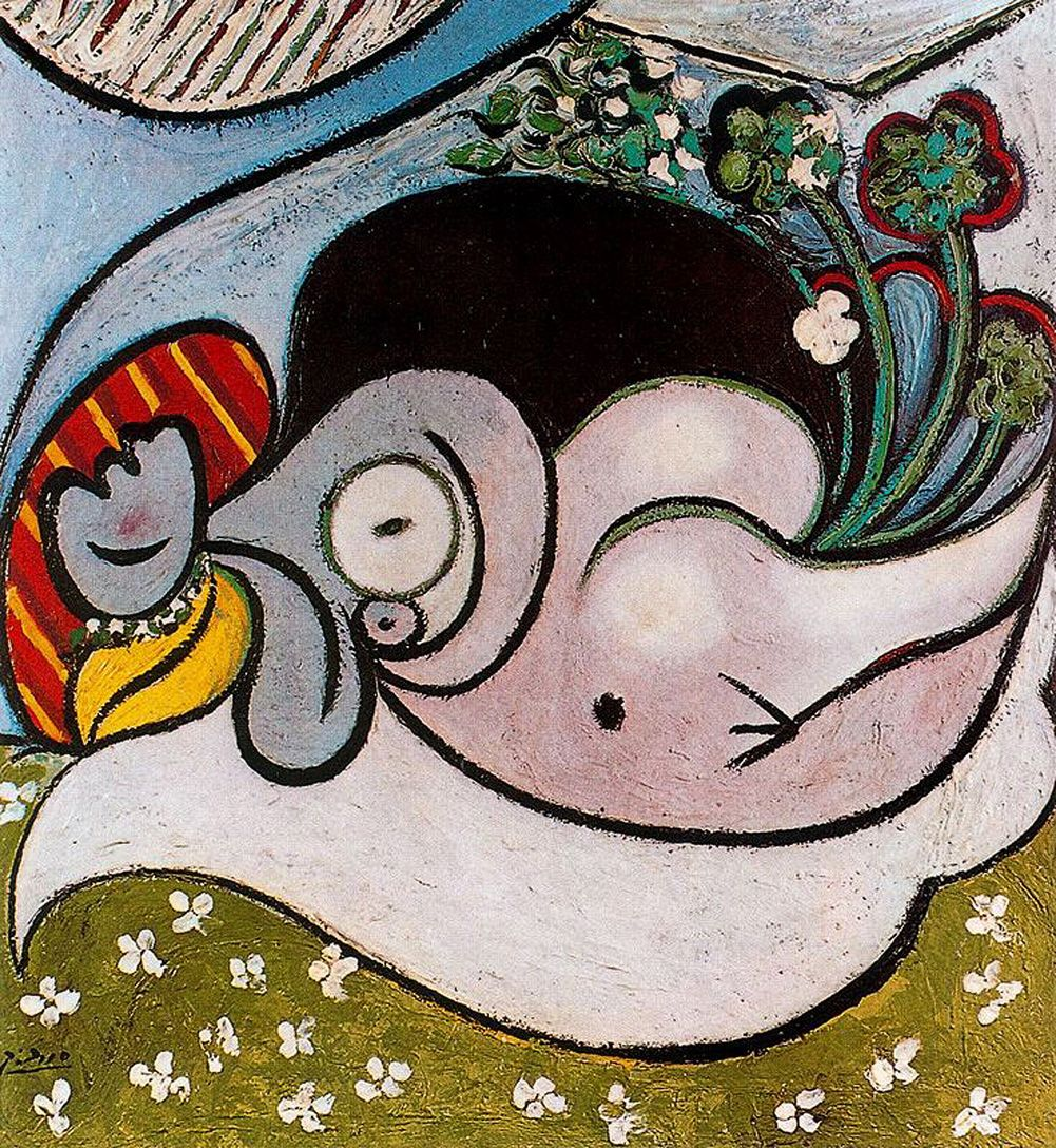 Reclining Woman - Pablo Picasso
