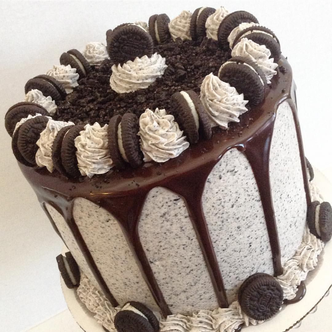 Oreo Drip Cake Oreo Cake Recipes Oreo Cake Cookies N Cream Cookies