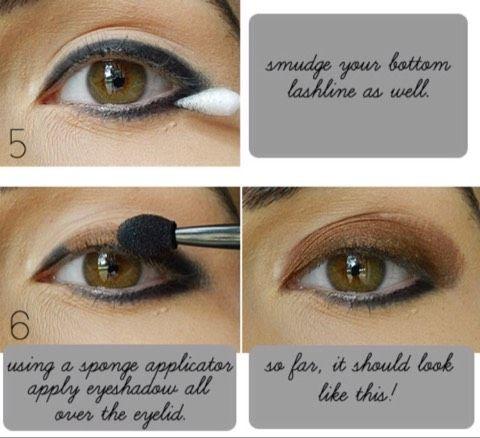 gold bronze eye makeup 😍😱👍🏻💯  bronze eye makeup eye