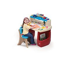 Babies R Us Step2 Deluxe Art Master Desk With Chair Merry