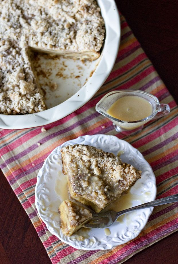 Cinnamon Bread Pudding with Rum Sauce - Erica's Sweet Tooth