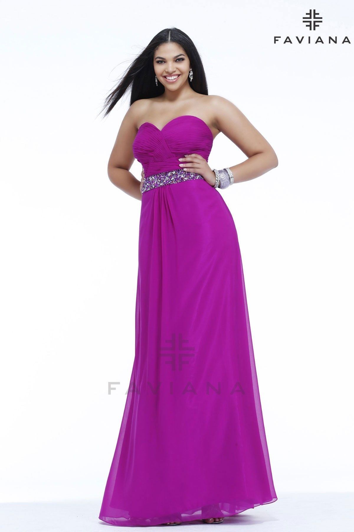 Gorgeous Plus-size gown from Faviana   Prom/Special Occasion ...