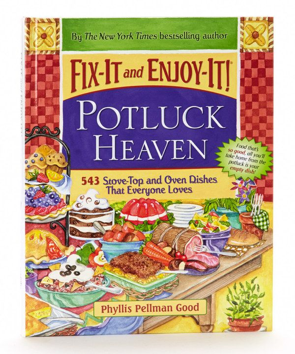 Take a look at this Fix-It & Enjoy-It Potluck Heaven Hardcover on zulily today!