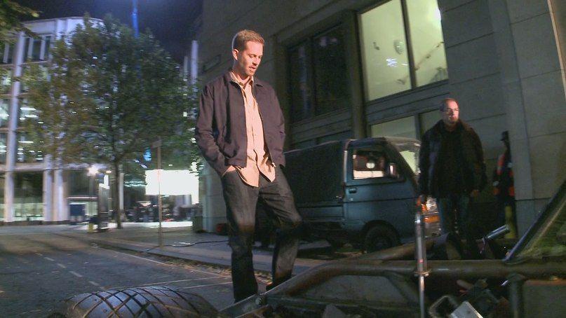 Paul on set of FF6
