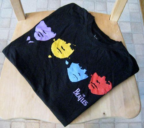 The Beatles Band John Paul George Ringo SS T-Shirt M | eBay