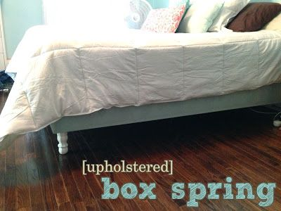 The Copper Coconut Easy Upholstered Box Spring Upholstered Box