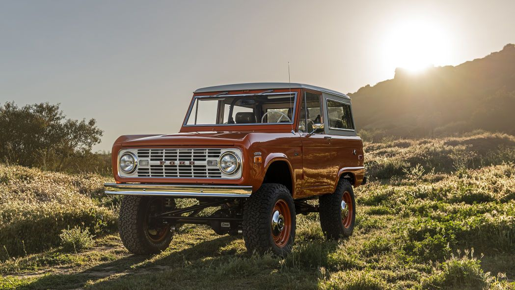 Icon Old School Br Ford Bronco Review Ford Bronco Ford Old School