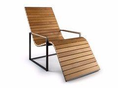 Sedie In Legno Con Braccioli : Sedia a sdraio in legno con braccioli garden sun chair rÖshults