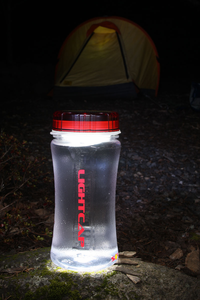 Solar Powered LED Bottle Cap- Turns your water bottle into a sun-powered lantern!