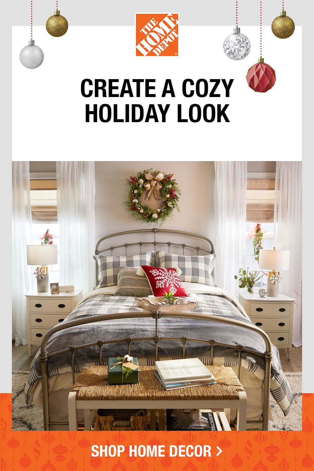Make Your Space Feel Welcoming With Furniture And Home Accents All Online At The Home Depot Home Decor Bedroom Home Farm House Living Room