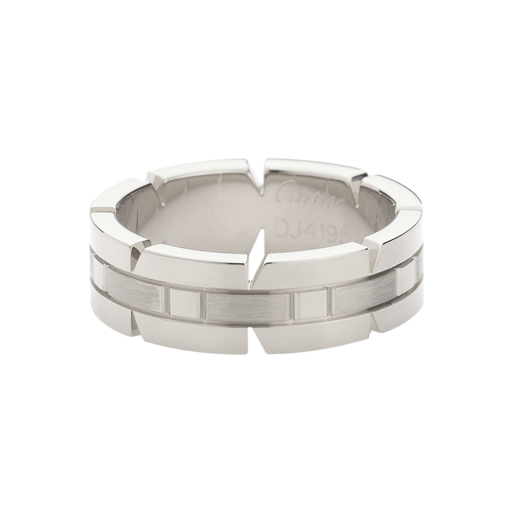 Tank Française Wedding Band By Cartier