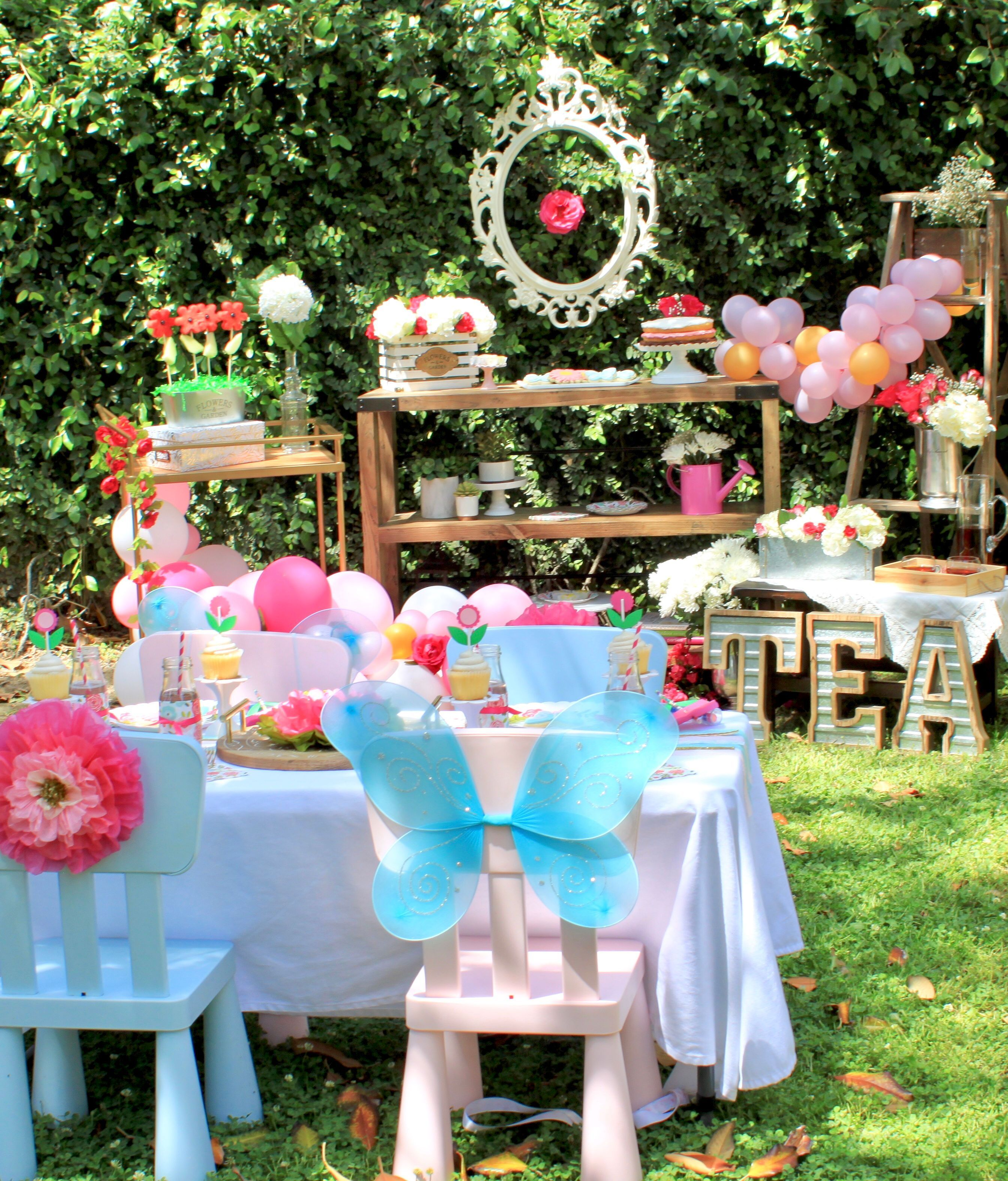10 Kids Garden Party Ideas Most Of The Incredible And Interesting Kids Gardening Party Kindergarten Party Kids Party Decorations