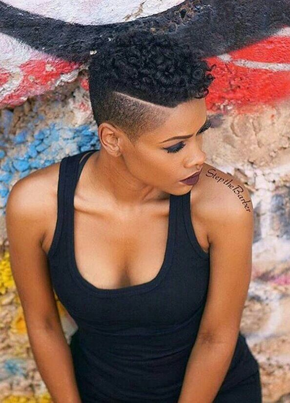 I love this style! | Black Hairstyles | Pinterest | Short hair ...